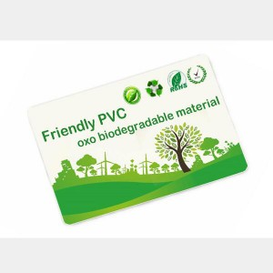 Eco friendly ABS plastic cards